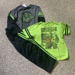 3 piece Teenage Mutant Ninja Turtles set